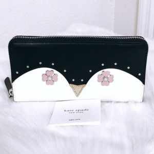 💃Kate Spade Frosty Large Continental Wallet